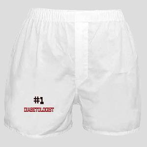 Number 1 DIABETOLOGIST Boxer Shorts