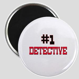 Number 1 DETECTIVE Magnet