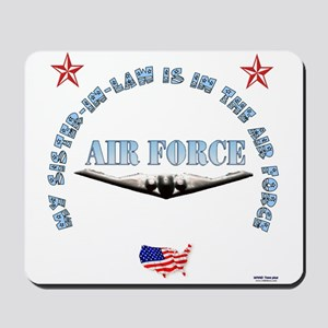 Air Force Sister-in-Law Mousepad