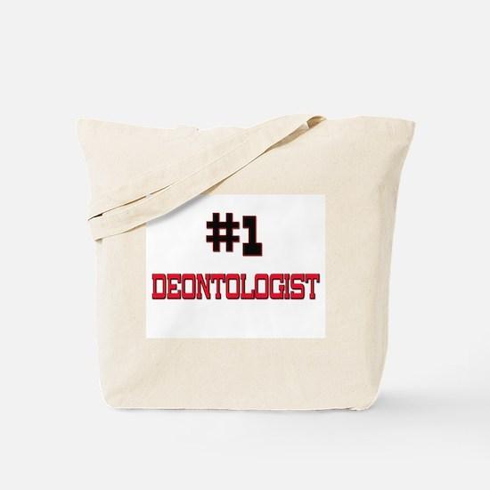 Number 1 DEONTOLOGIST Tote Bag