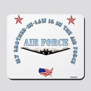 Air Force Brother-in-Law Mousepad
