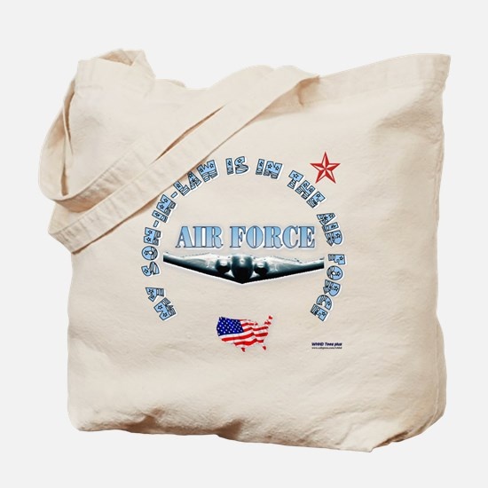 Air Force Son-in-Law Tote Bag