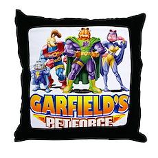 Pet Force - Line Up Throw Pillow