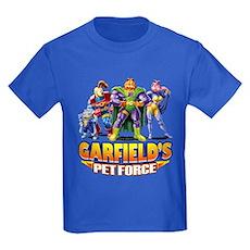 Pet Force - Line Up Kids Dark T-Shirt