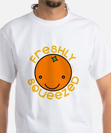 Freshly Squeezed White T-Shirt