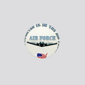 Air Force Daughter Mini Button