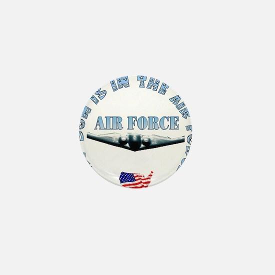Air Force Son Mini Button