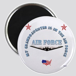 Air Force Granddaughter Magnet