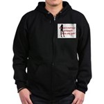 That's My job Zip Hoodie (dark)