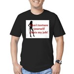 That's My job Men's Fitted T-Shirt (dark)