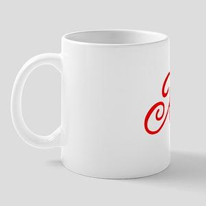 """Initial """"X"""" Mug"""