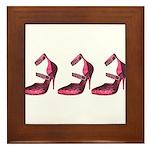 Punk Pink Framed Tile