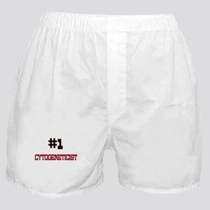 Number 1 CYTOGENETICIST Boxer Shorts