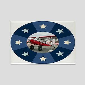 Red & white aircraft, Alaska Magnets