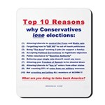 Why Conservatives lose elections Mousepad