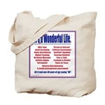It's (not) a Wonderful Life. Tote Bag