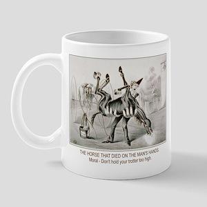 Horse trotter humor Mug
