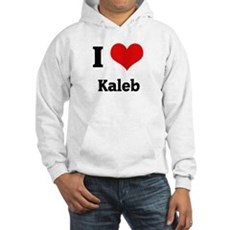 I Love Kaleb Hooded Sweatshirt