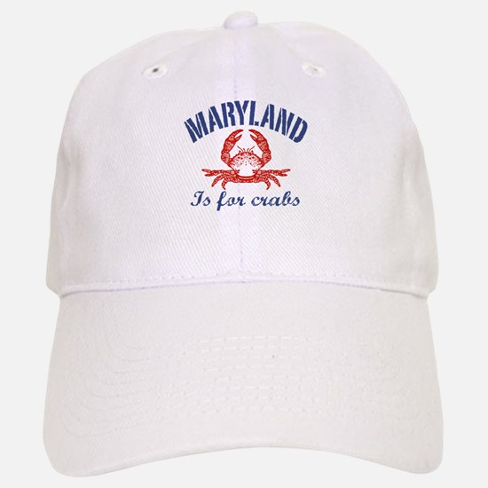 Maryland Is for Crabs Baseball Baseball Cap