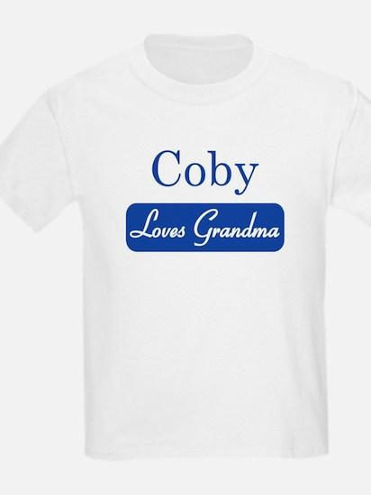 Coby loves grandma T-Shirt