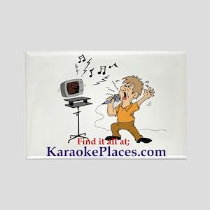 Karaoke Fridge Magnet