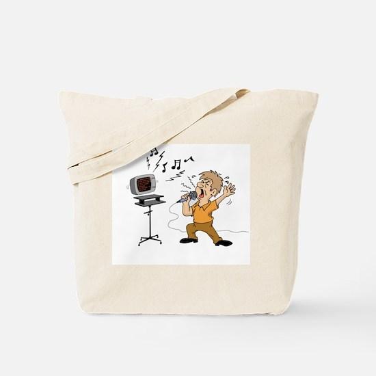 Karaoke Tote Bag