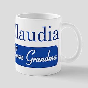 Claudia loves grandma Mug