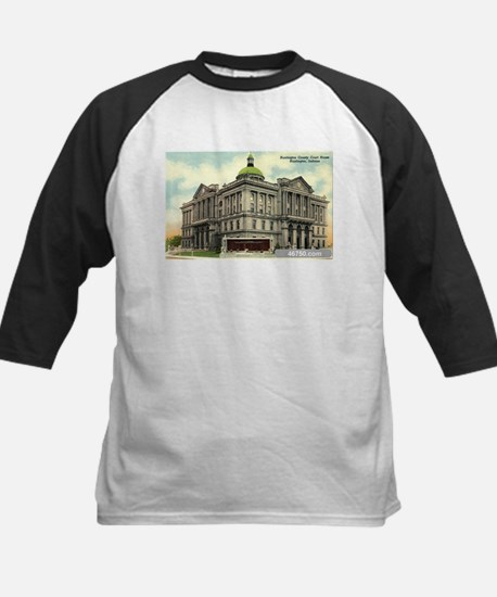 Court House 1 Huntington Indi Kids Baseball Jersey