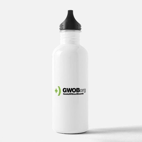 GWOB logo w text Water Bottle