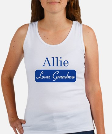 Allie loves grandma Women's Tank Top