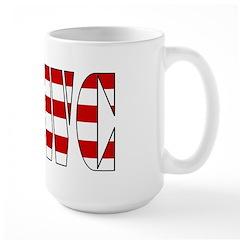 VRWC Red White & Blue Large Mug