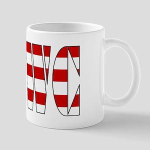VRWC Red White & Blue Mug