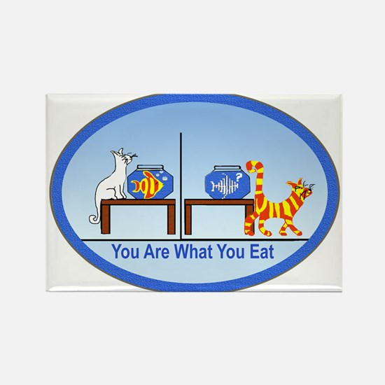 What You Eat Rectangle Magnet
