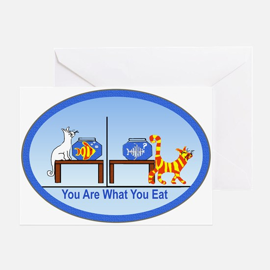 What You Eat Greeting Card