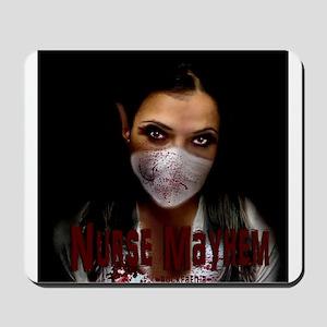 Nurse Mayhem Mousepad