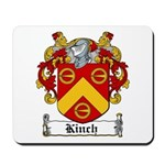 Kinch Coat of Arms Mousepad