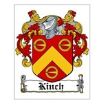 Kinch Coat of Arms Small Poster