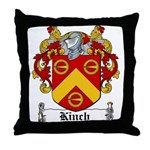 Kinch Coat of Arms Throw Pillow