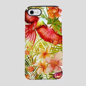Aloha Tropical Jungle Flowers iPhone 7 Tough Case