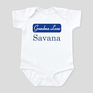 Grandma Loves Savana Infant Bodysuit