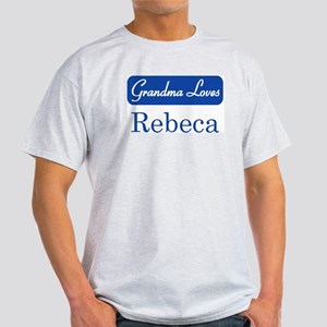 Grandma Loves Rebeca Light T-Shirt