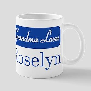 Grandma Loves Roselyn Mug