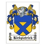 Kirkpatrick Coat of Arms Small Poster