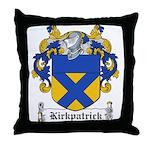 Kirkpatrick Coat of Arms Throw Pillow