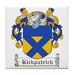Kirkpatrick Coat of Arms Tile Coaster