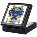 Kirkpatrick Coat of Arms Keepsake Box