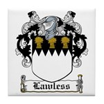 Lawless Coat of Arms Tile Coaster
