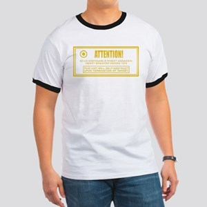scud_goldenwarning T-Shirt