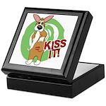 Kiss It Corgi Keepsake Box