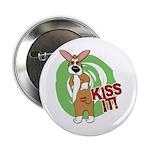 """Kiss It Corgi 2.25"""" Button"""